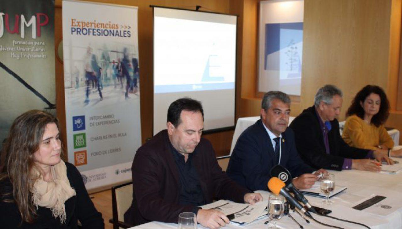 Presentación ante la prensa del Programa de Experiencias Profesionales
